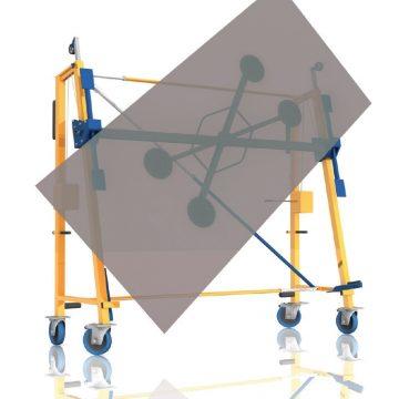 GKTechniques-CHARIOT a ventouses DE LEVAGE NOMAD